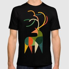 Antler Black 2X-LARGE Mens Fitted Tee