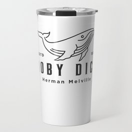 Moby Dick design | Herman Melville 1851 Whale product Travel Mug