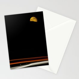 Moon on the 5 Stationery Cards