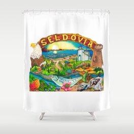 Seldovia Shower Curtain