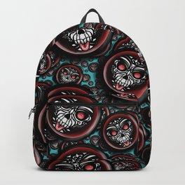 Cute Skull Maori Backpack