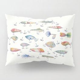 Fishing Lures Pillow Sham