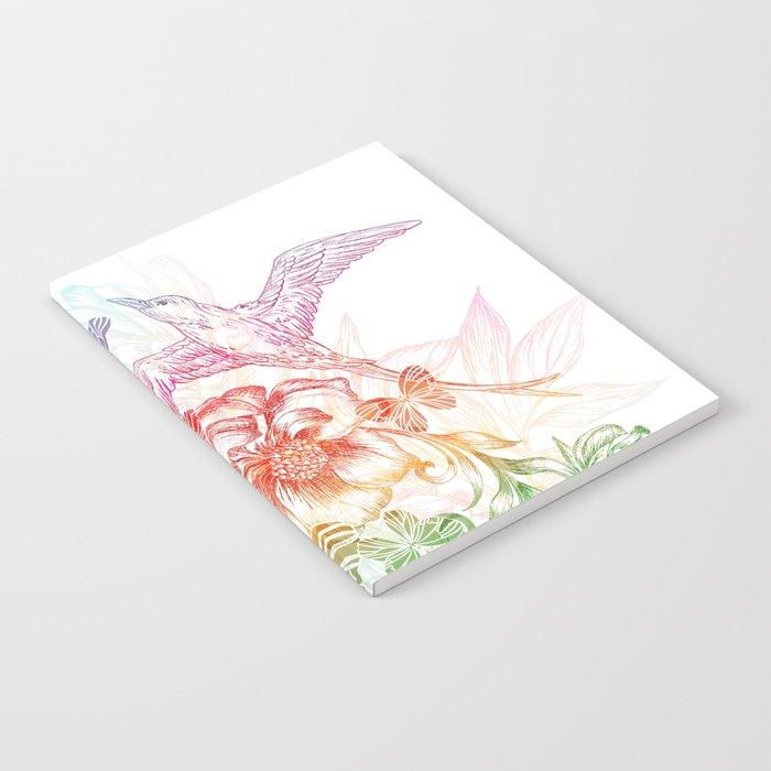 birds of paradise Notebook