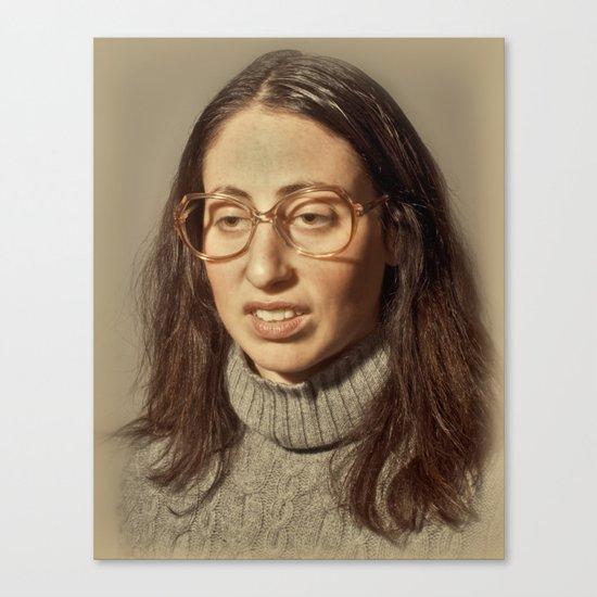 i.am.nerd. :: lauren s. Canvas Print