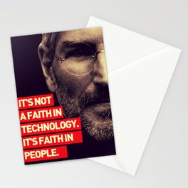 Office SteveJobs Quote Stationery Cards