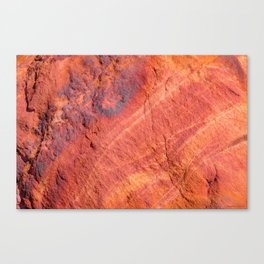Natural Sandstone Art - Valley of Fire Canvas Print