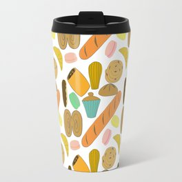 Patisseries de France French Pastries and Breads Travel Mug