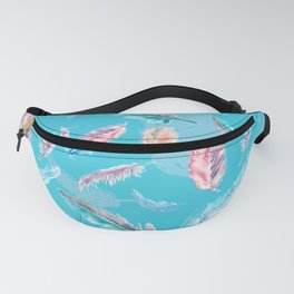 Feathery Dream Fanny Pack