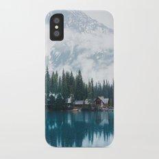 Emerald Lake Lodge II Slim Case iPhone X