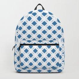 Retro-Delight - Diamond Division - Blue (Invert) Backpack