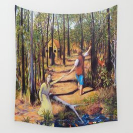 Hansel and Gretel Wall Tapestry
