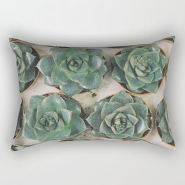 Succulent Collection Rectangular Pillow