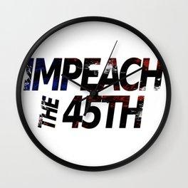 Impeach the 45th Wall Clock