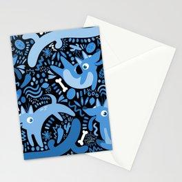 Los Perros Azules de Xolotls Stationery Cards