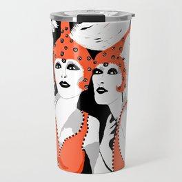 Woman Flappers Travel Mug