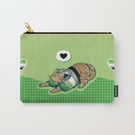 Pride Cats - Aromantic Pride Carry-All Pouch