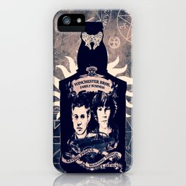 Supernatural In A Bottle iPhone Case