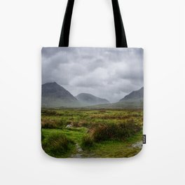 Stormy Highlands Tote Bag