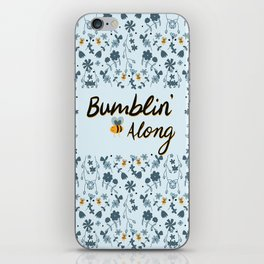 Bumbling and Busy iPhone Skin