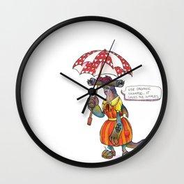 Sheila Shark Wall Clock