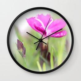 Lilac dream... so sweet... Wall Clock