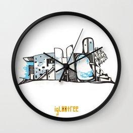 Notre Dame du Haut Wall Clock