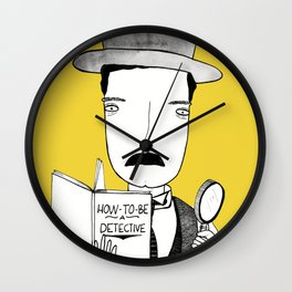 Sherlock Jr. Wall Clock