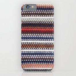 Texture laine iPhone Case
