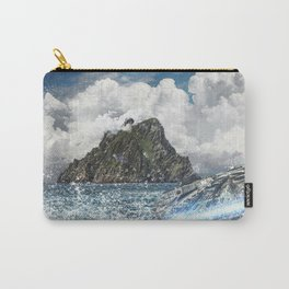 The Force Awakens Warship In Sea Digital Print Carry-All Pouch