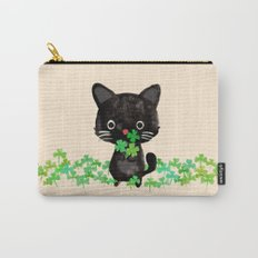The Luckiest Cat Carry-All Pouch
