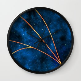 Divide the Sky Wall Clock