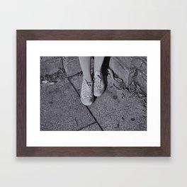 Little feats Framed Art Print