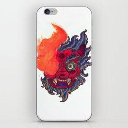 Hate Monster Oni iPhone Skin