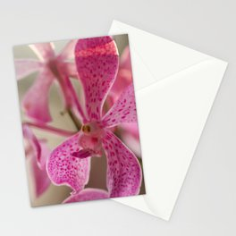 Feminine orchid Stationery Cards