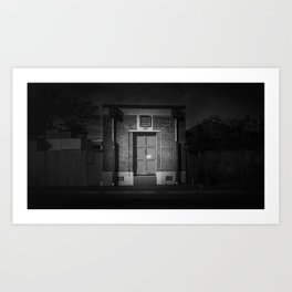 The Christchurch Electricity Substation Project XXXIII Art Print