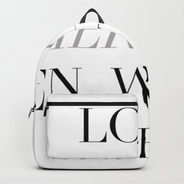 Love Fiercely Backpack