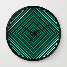 Op Art 32 Wall Clock
