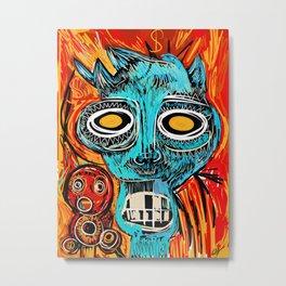 Blue Devil Metal Print