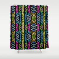 xoxo Shower Curtains featuring XOXO by Klara Acel