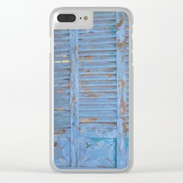 Blue door photography Clear iPhone Case