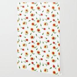 Red Carnation #spring #floral #homedecor Wallpaper