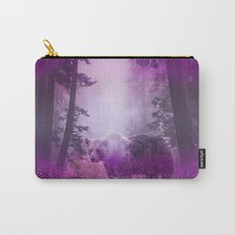 Fairy bear out of the woods Carry-All Pouch