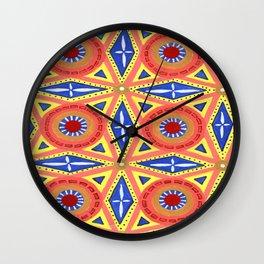Muddle Puddle Wall Clock