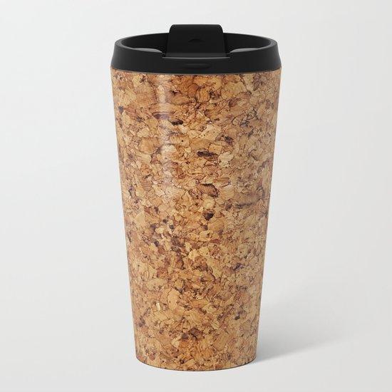 Cork Metal Travel Mug