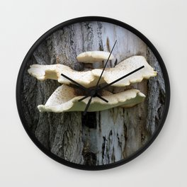 That Mushroom Mouth Tree Wall Clock