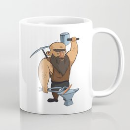 medieval blacksmith Coffee Mug
