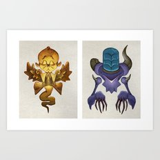 Universal Complements Art Print