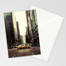 Heart Failed in the Back of a Taxi Stationery Cards