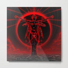 Scorpiescence Metal Print