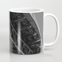 bridge Mugs featuring Bridge by Christophe Chiozzi
